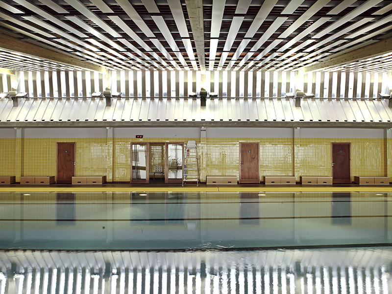 La piscine de begles 7 nicole concordet architecte for Piscine de begles