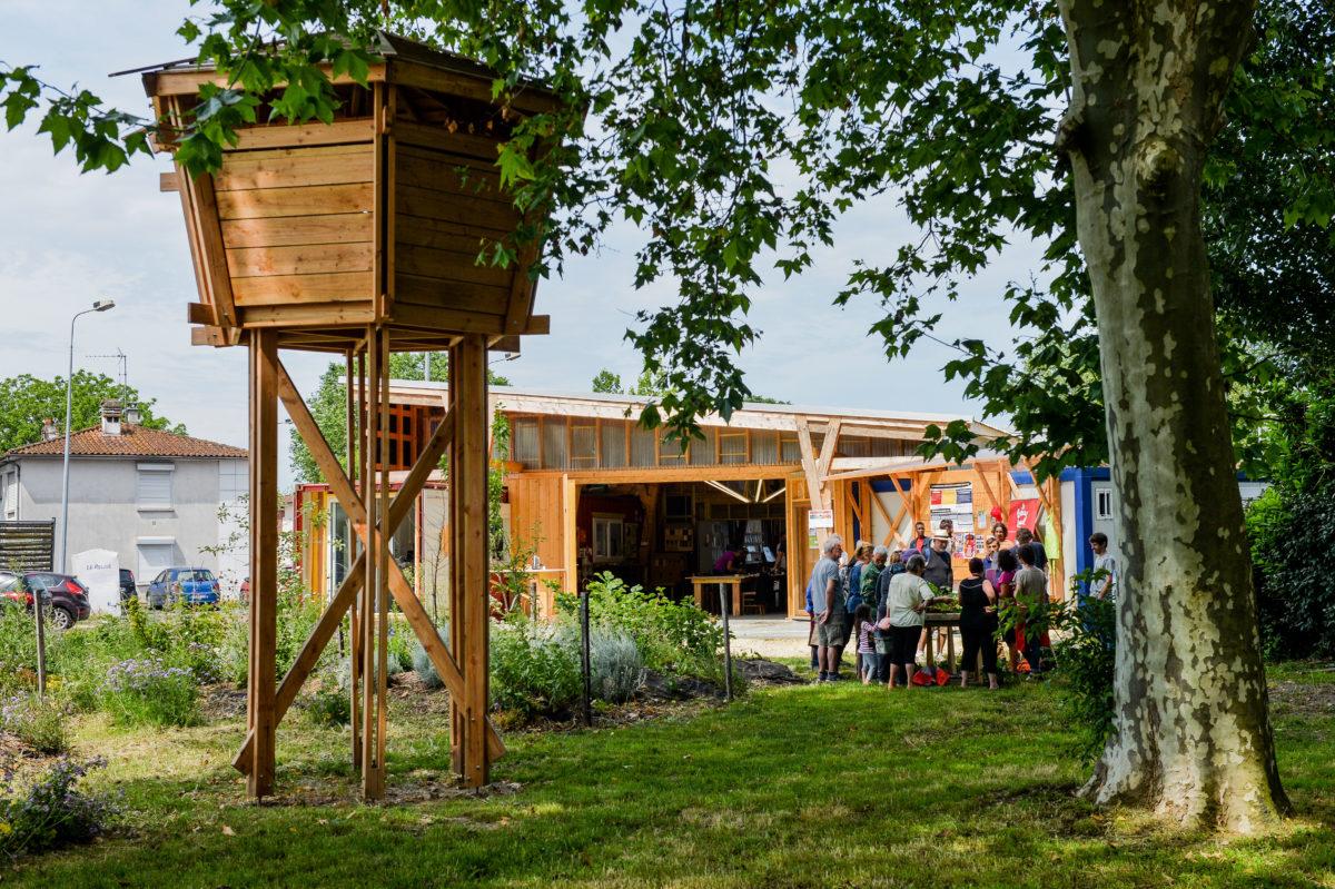 """AQUITANIS """"Faison vivre ensemble la cité jardin"""" 2-06-18"""